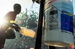 Woman at a tap, Haiti-IPCC-AR5 toolkit-report