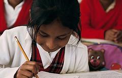 girl in classroom copyright world bank